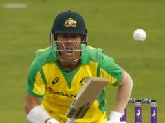 Australia's David Warner is a surprise entrant in The Hundred draft (Jason Cairnduff/PA)