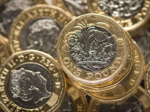 Pound climbs to three-year high as equity markets dip amid trading caution (Dominic Lipinski/PA)