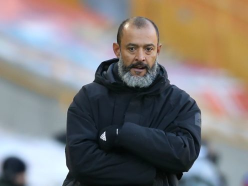 Wolves head coach Nuno Espirito Santo feels there could be better ways for football to operate under Covid protocols. (Nick Potts/PA)
