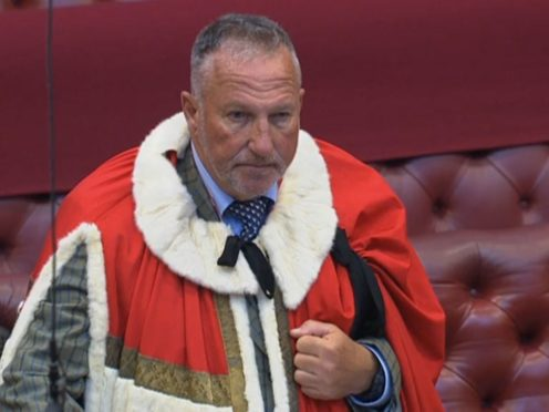 Lord Botham (House of Lords/PA)