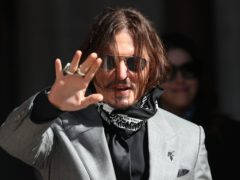 Johnny Depp lost a UK libel claim against The Sun last year (Yui Mok/PA)