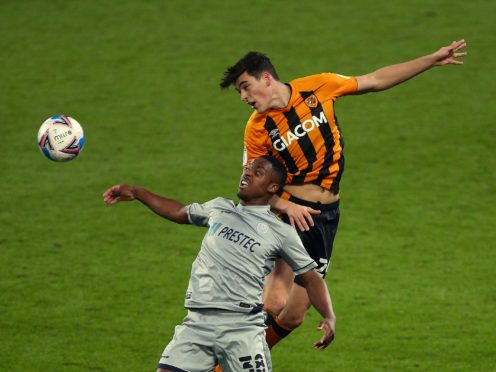 Niall Ennis, front, could keep his starting place for Plymouth (Nigel French/PA)