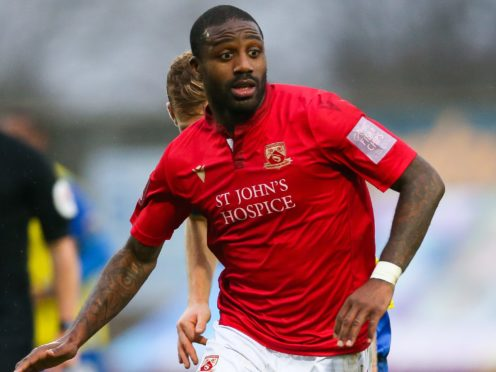 Yann Songo'o has been charged by the FA for an alleged homophobic insult (Barrington Coombs/PA)