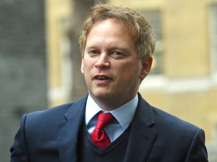 Transport Secretary Grant Shapps (Kirsty O'Connor/PA)