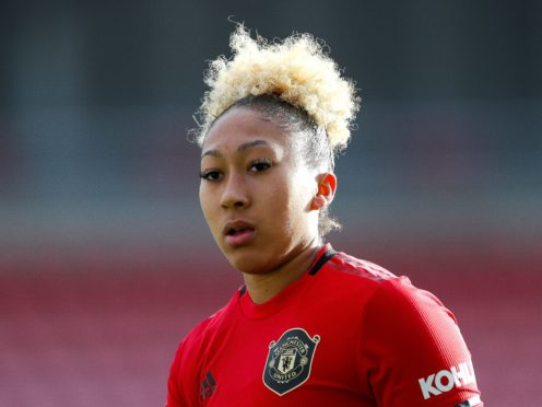 Lauren James has written an article in the Telegraph after suffering racist abuse online last week (Barry Coombs/PA).