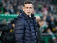 Jack Ross insists Hibs' contest with Aberdeen will not be decisive in the race for third (Steve Welsh/PA)