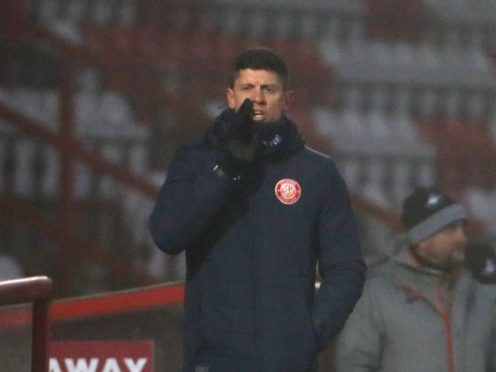 Alex Revell's Stevenage got a point against Walsall (Bradley Collyer/PA)
