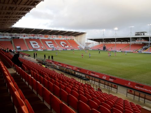 There was an inspection at Bloomfield Road on Friday afternoon (Richard Sellers/PA)