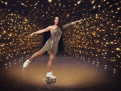 Rebekah Vardy will perform to Moon River during movie week (ITV)