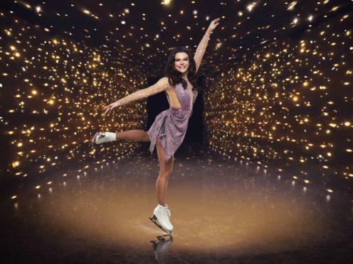 Dancing On Ice contestant Faye Brookes (ITV)