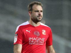 Brett Pitman was the match-winner for Swindon (Nick Potts/PA)
