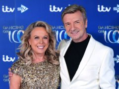 """EMBARGOED TO 0001 FRIDAY JANUARY 15 File photo dated 9/12/2019 of Jayne Torvill and Christopher Dean. Torvill has said it will be """"strange"""" that she will not be able to hug Christopher Dean during filming for Dancing On Ice. The former Olympic ice dancing champions will have to social distance during filming for the ITV show, however they have pre-recorded some routines which will be aired during the programme."""