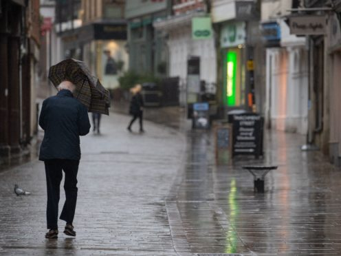 Around a quarter of UK adults are expecting to struggle to make ends meet, while nearly half of the population say the coronavirus pandemic has left their finances unaffected, according to the City regulator (Andrew Matthews/PA)
