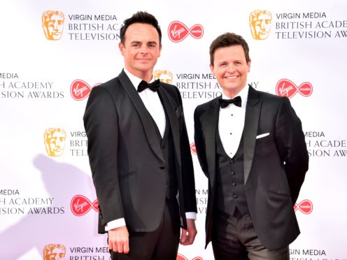 Anthony McPartlin, left, and Declan Donnelly (Matt Crossick/PA)