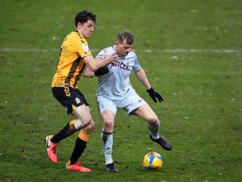 Danny Rowe (right) is hoping to return for Bradford (Joe Giddens/PA)