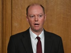 Chief medical officer Chris Whitty (Justin Tallis/PA)