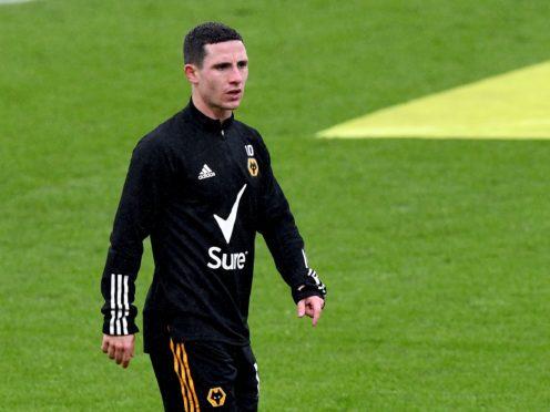 Daniel Podence remains sidelined (Facundo Arrizabalaga/PA)