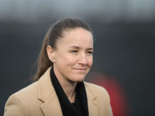 Casey Stoney's Manchester United are second in the Women's Super League table (Martin Rickett/PA).