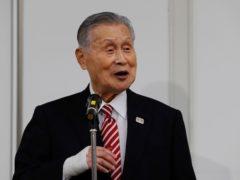 Yoshiro Mori, the president of the Tokyo Olympic organising committee, is due to resign, according to reports (Kim Kyung-hoon/Pool Photo via AP)