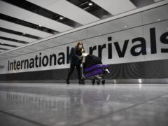 Travellers arriving in the UK from countries on the travel ban list will have to quarantine in hotels from Monday (Kirsty O'Connor)