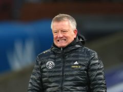 Chris Wilder's Sheffield United sit at the foot of the table (Clive Rose/PA)