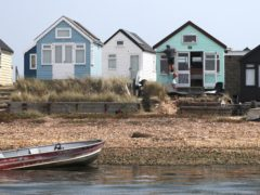 Beach huts at Hengistbury Head in Dorset have been targeted in a spate of burglaries and arson attacks, police said (Andrew Matthews/PA)