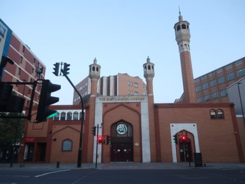 The East London Mosque in Whitechapel, east London (PA Wire)