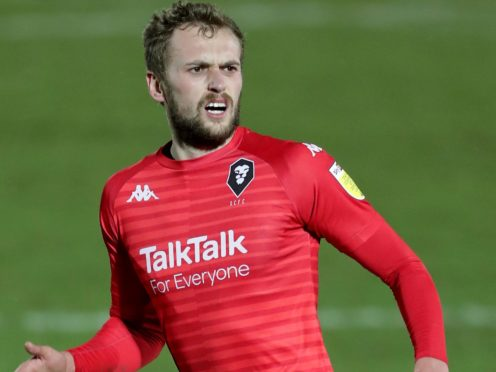 File photo dated 26-12-2020 of Salford City's James Wilson. Issue date: Monday February 8, 2021.