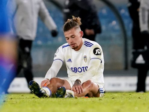 Kalvin Phillips is still out with a calf injury (Jon Super/PA)