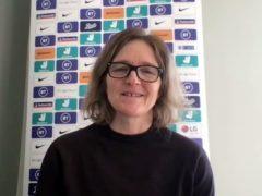 Hege Riise is England Women's interim boss (PA)