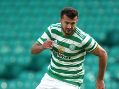 Celtic's Albian Ajeti insists he is not a diver (Andrew Milligan/PA)