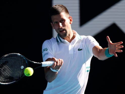Novak Djokovic battled through in four sets (Rick Rycroft/AP)
