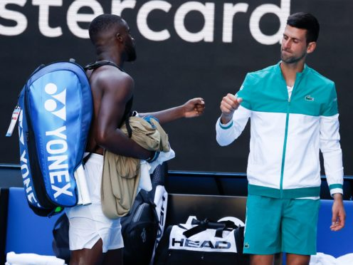 Novak Djokovic safely progressed in Melbourne (Rick Rycroft/AP