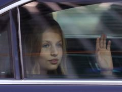 Princess Leonor is going to study in Wales (Manu Fernandez/AP)