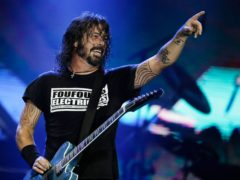 Dave Grohl from the Foo Fighters (Leo Correa/AP)