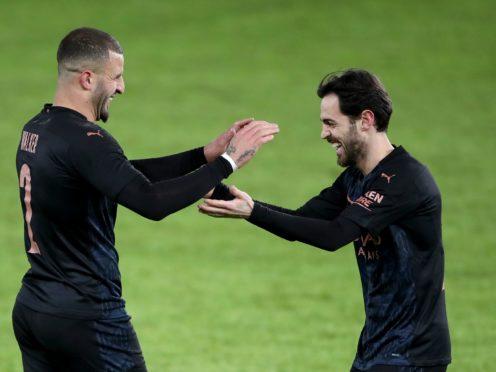 Manchester City's run went on (Nick Potts/PA)