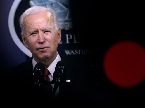 Joe Biden has had his first phone call as president with Chinese counterpart Xi Jinping (Patrick Semansky/AP)