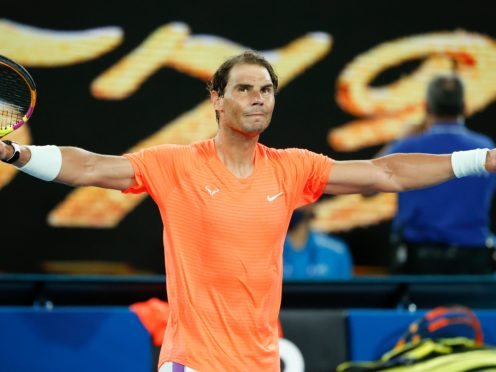 Rafael Nadal defeated Michael Mmoh in straight sets (Rick Rycroft/AP)