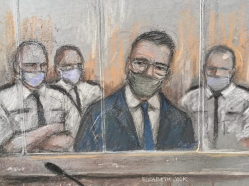 Pawel Relowicz appearing at Sheffield Crown Court (Elizabeth Cook/PA)