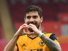 Ruben Neves scored from the spot for Wolves (Andy Rain/PA)