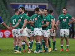 Ireland were beaten in Dublin (Brian Lawless/PA)
