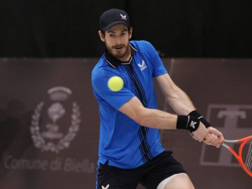 Andy Murray reached the final of a Challenger event in Biella, Italy (Felice Calabro/AP)