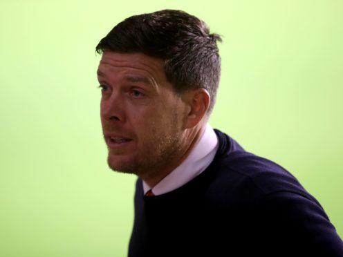Darrell Clarke bemoaned Port Vale's lack of quality against Stevenage (Nick Potts/PA)