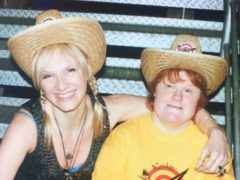 Jo Whiley and her sister Frances (Jo Whiley)