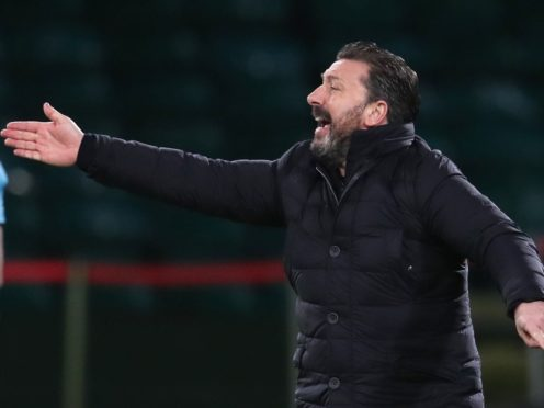 Derek McInnes' side brought an end to their wait for a goal (Andrew Milligan/PA)