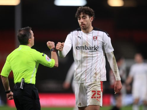 Matt Crooks could be available for Rotherham's clash with Nottingham Forest (Adam Davy/PA)