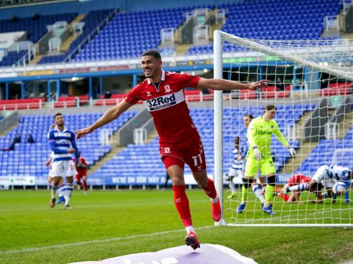 Ashley Fletcher opened the scoring for Middlesbrough (John Walton/PA)