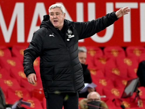Newcastle manager Steve Bruce believes his side will remain in the Premier League (Stu Forster/PA)