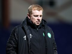 Celtic manager Neil Lennon suffered more agony (Jeff Holmes/PA)