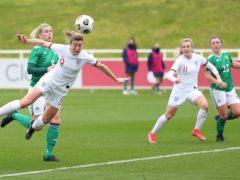 Ellen White scored a hat-trick for England (FA)